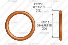 Кольцо уплотнительное пробки пары плунжерной 34134 Star Diesel