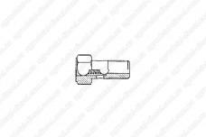Клапан перепускной ТНВД М12 (0.5-1.0 bar) DX38023 Nova Ditex
